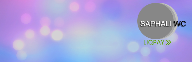 WordPress Saphali LiqPay for donate Plugin Banner Image