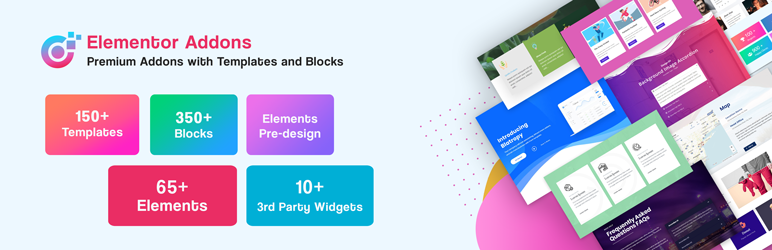 WordPress Elementor Addons – Premium Elementor Addons with Templates & Blocks Plugin Banner Image