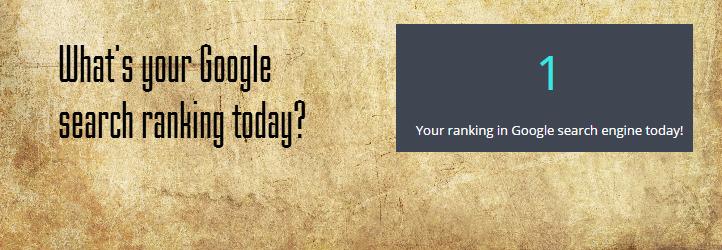 WordPress SC Google Ranking Plugin Banner Image