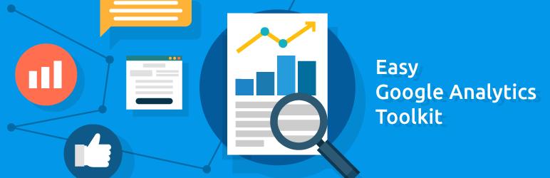 WordPress Easy Google Analytics Toolkit Plugin Banner Image