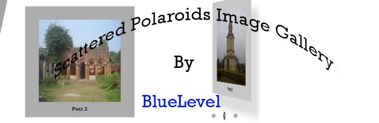 WordPress Scattered Polaroid Image Gallery Plugin Banner Image