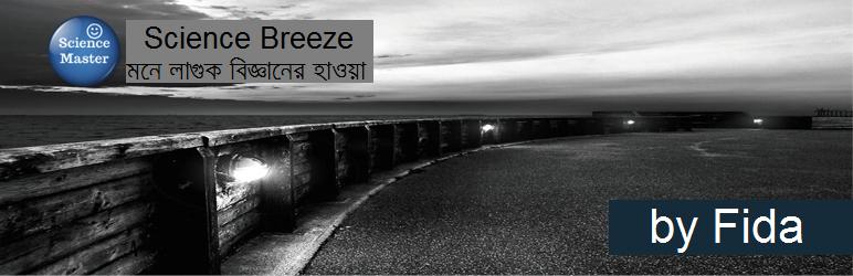 WordPress Science Breeze Widget Plugin Banner Image