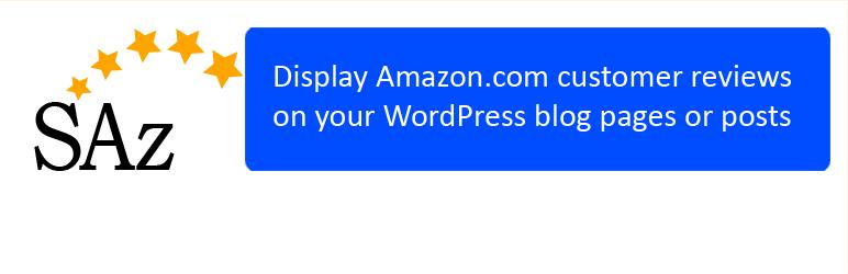 WordPress ScrapeAZon Plugin Banner Image