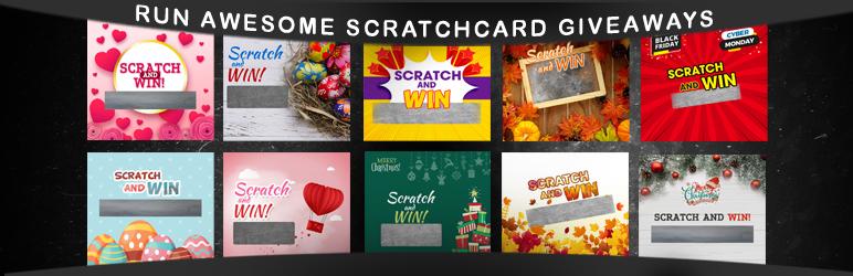 WordPress Scratch & Win Giveaways Plugin Banner Image