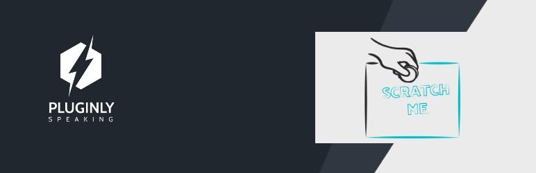 WordPress Scratching Effect Plugin Banner Image