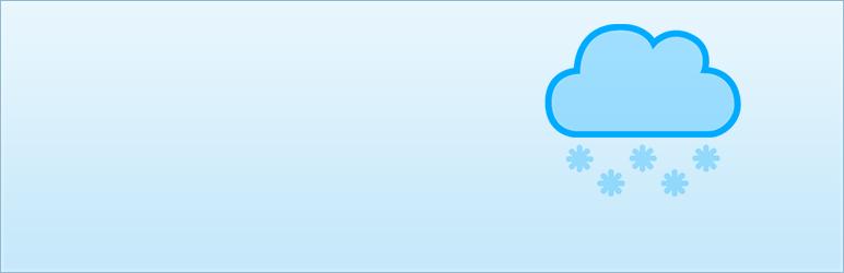 WordPress Screen Snow Plugin Banner Image