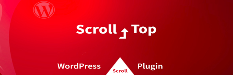 WordPress Scroll To Top Button Awesome Plugin Banner Image