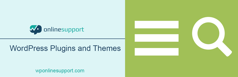 WordPress Search and Navigation Popup Plugin Banner Image