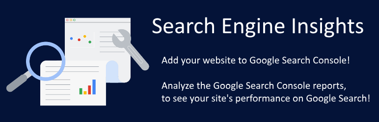WordPress Search Engine Insights for Google Search Console Plugin Banner Image