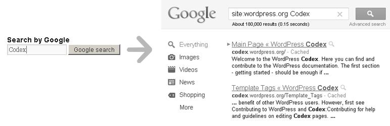 WordPress Search by Google Plugin Banner Image