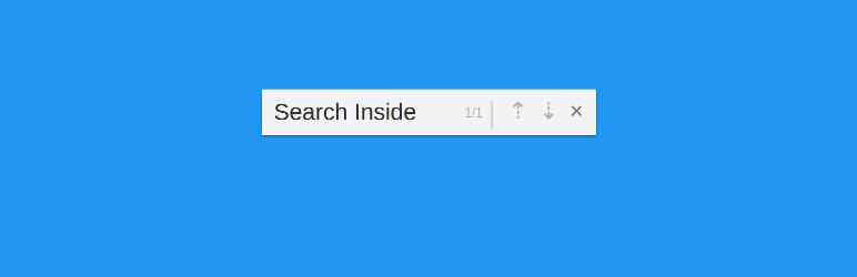 WordPress Search Inside Plugin Banner Image