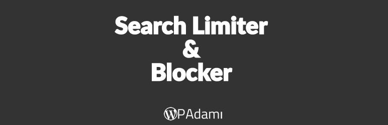 WordPress Search Limiter & Blocker Plugin Banner Image