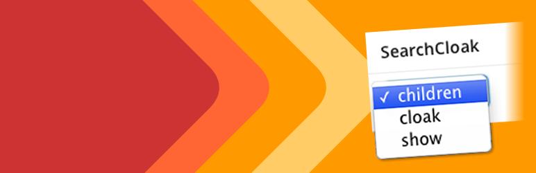 WordPress SearchCloak Plugin Banner Image