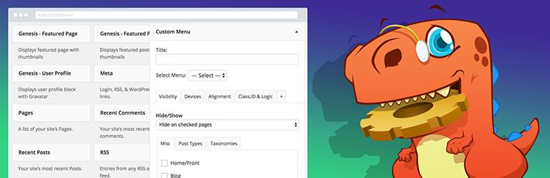 WordPress Plugin widget-options