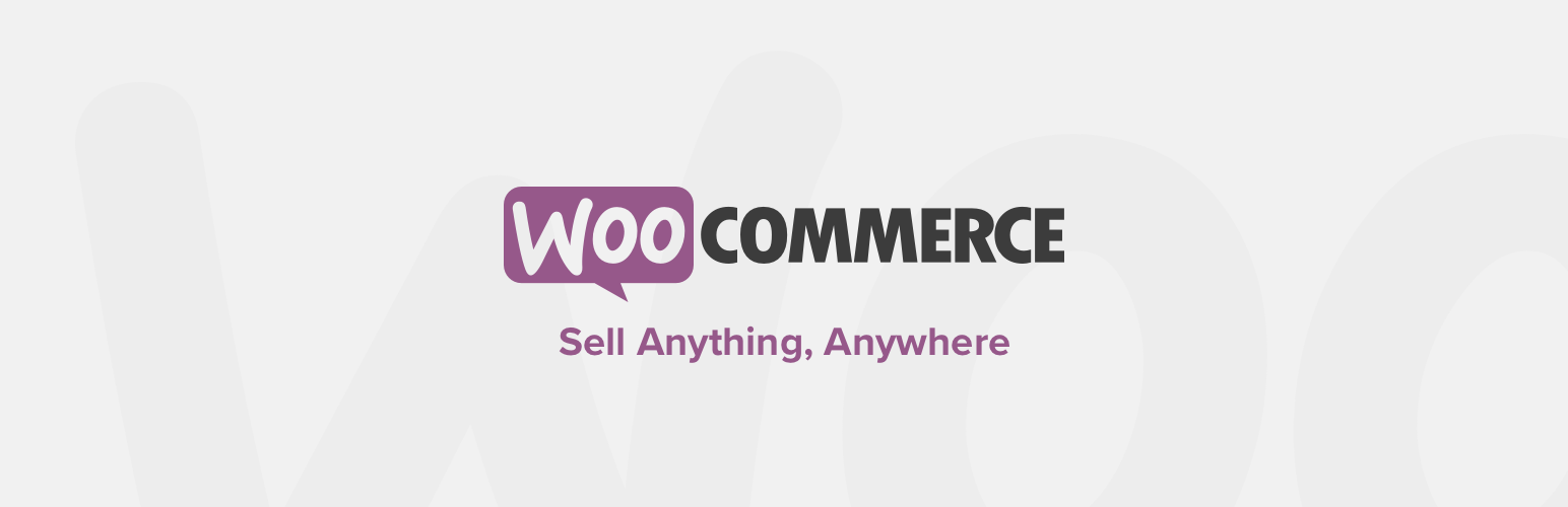 WordPress Plugin woocommerce