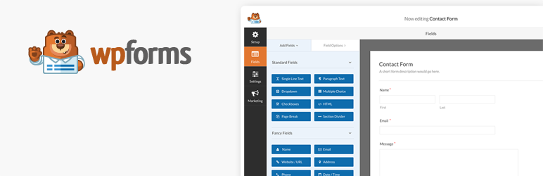 WordPress Plugin wpforms-lite